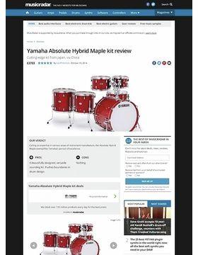 Yamaha Absolute Hybrid Maple kit