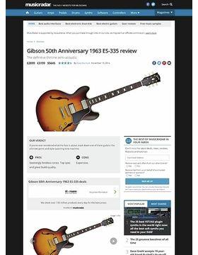 Gibson 50th Anniversary 1963 ES-335