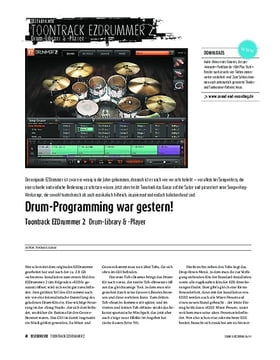 Toontrack EZDrummer 2 - Drum-Library & -Player