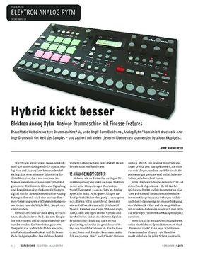 Elektron Analog Rytm - Analoge Drummaschine mit Finesse-Features