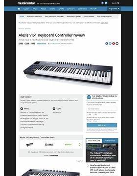 Alesis VI61 Keyboard Controller