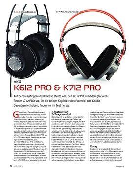 AKG K612 PRO & K712 PRO
