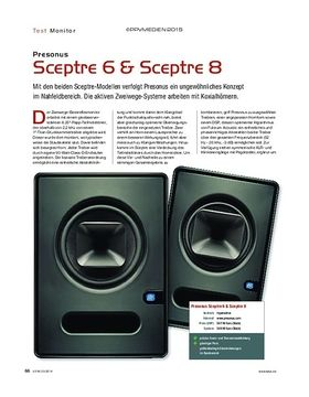Presonus Sceptre 6 & Sceptre 8