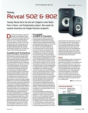 Tannoy Reveal 502 & 802