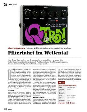 Electro-Harmonix Q-Tron+, Q-Balls, Stereo Talking Machine