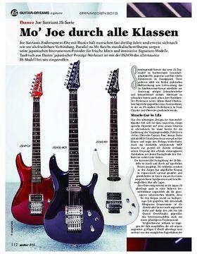 Ibanez Joe Satriani JS-Serie