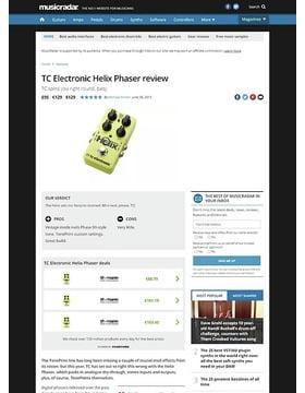 TC Electronic Helix Phaser