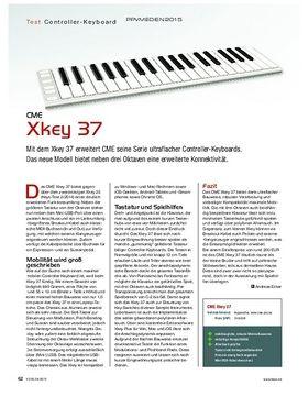 CME Xkey 37