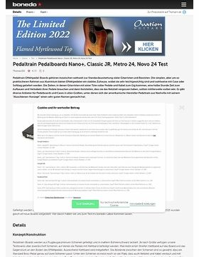 Pedaltrain Nano+, Classic JR, Metro 24, Novo 24