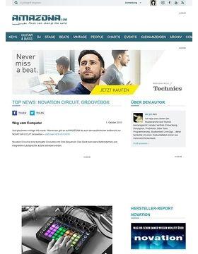 Top News: Novation Circuit, Groovebox