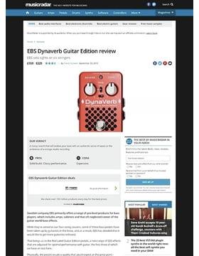 EBS Dynaverb Guitar Edition