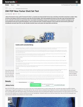 DW PDP New Yorker Shell Set