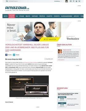 Vergleichstest: Marshall Silver Jubilee 2555 und Bluesbreaker 1962 Plug-ins für UAD Hardware