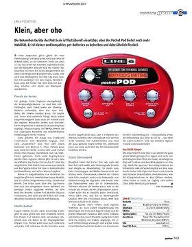 gear Modeling-Amp - Line 6 Pocket Pod