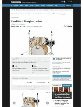 Pearl Wood Fiberglass