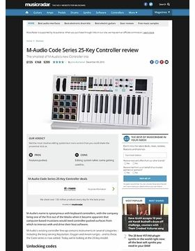 M-Audio Code Series 25-Key Controller