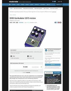 DOD Gonkulator 2015
