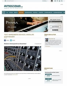 Test: Marienberg Devices, Modular-Synthesizer