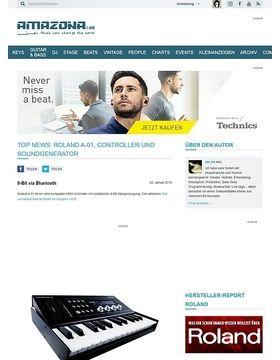 Top News: Roland A-01, Controller und Soundgenerator
