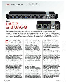 Zoom UAC-2 und -8