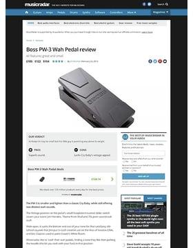 Boss PW-3 Wah Pedal