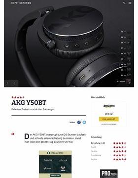 AKG by Harman Y-50BT Black