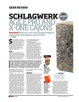 Schlagwerk Agile Pro And X One Cajons