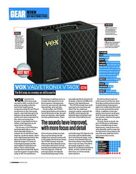 Vox Valvetronix VT40X