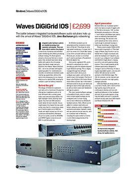 Waves DiGiGrid IOS