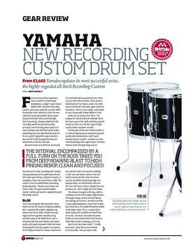 Yamaha New Recording Custom Drum Set