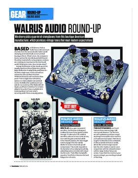 Walrus Audio Round-Up