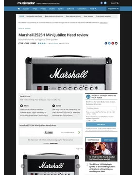 Marshall 2525H Mini Jubilee Head