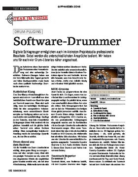 Software Drummer