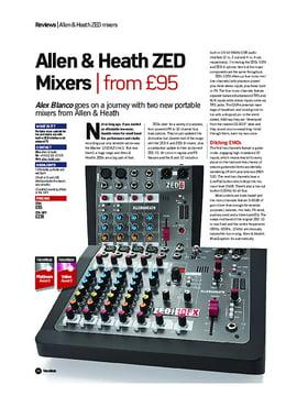 Allen & Heath ZED Mixers
