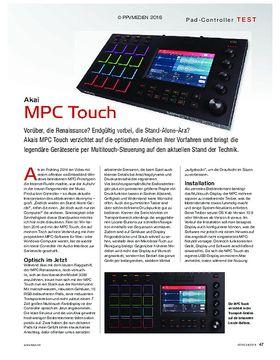Akai MPC Touch