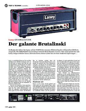 Laney GH100R & GS412VR