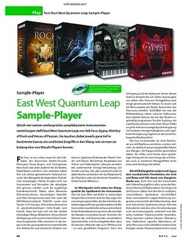 Test: East West Quantum Leap Sample-Player