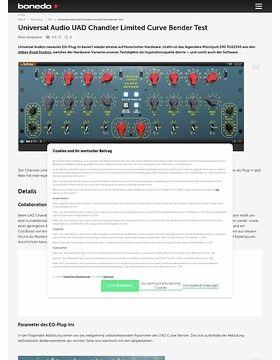 Universal Audio UAD Chandler Limited Curve Bender