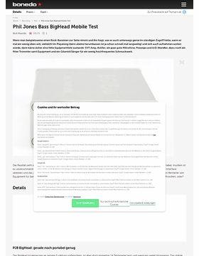 Phil Jones Bass BigHead Mobile