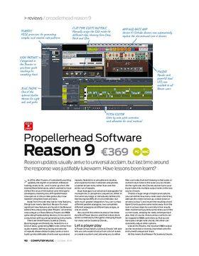 Propellerhead Software Reason 9