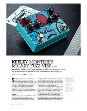 Keeley Monterey Rotary Fuzz Vibe