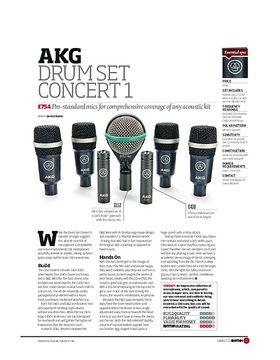 AKG Drum Set Concert 1