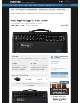 Mesa Engineering JP-2C Head