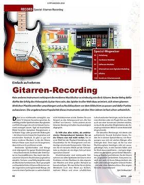 Special: Gitarren-Recording