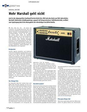 gear Amp - Marshall JVM 205C