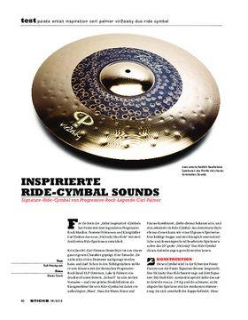 Paiste Artist Inspiration Carl Palmer Vir2osity Duo Ride Cymbal