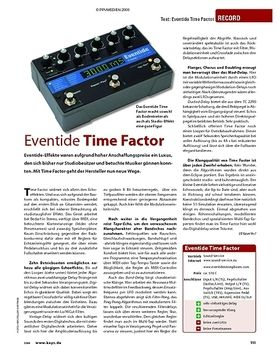 Test: Eventide Time Factor