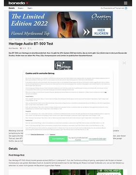 Heritage Audio BT-500