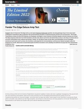 Fender The Edge Deluxe Amp