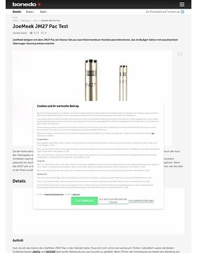 JoeMeek JM27 Pac